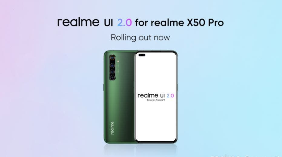 Realme X50 Pro Update