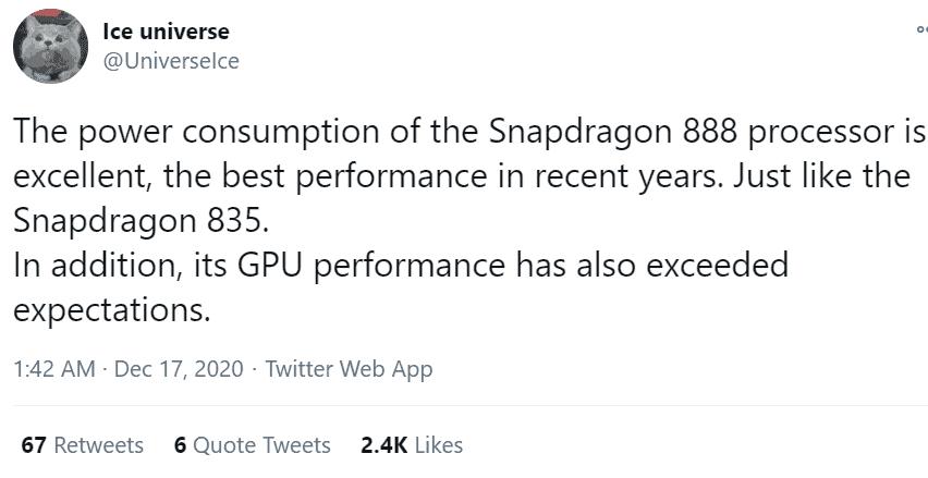 Snapdragon 888 SoC