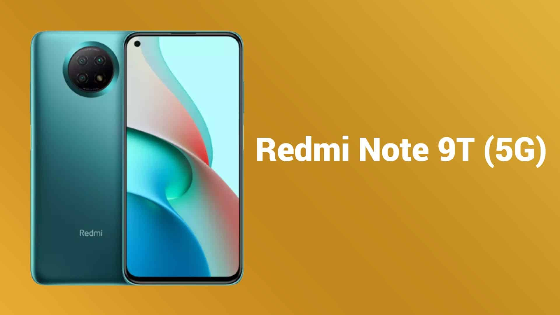 Redmi Note 9T with MediaTek Dimensity 800U spotted on Geekbench