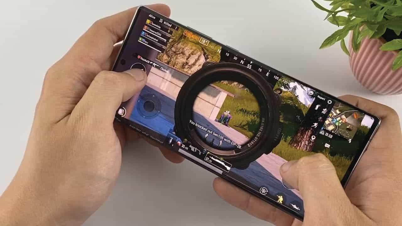 Galaxy Note 20 GameDriver
