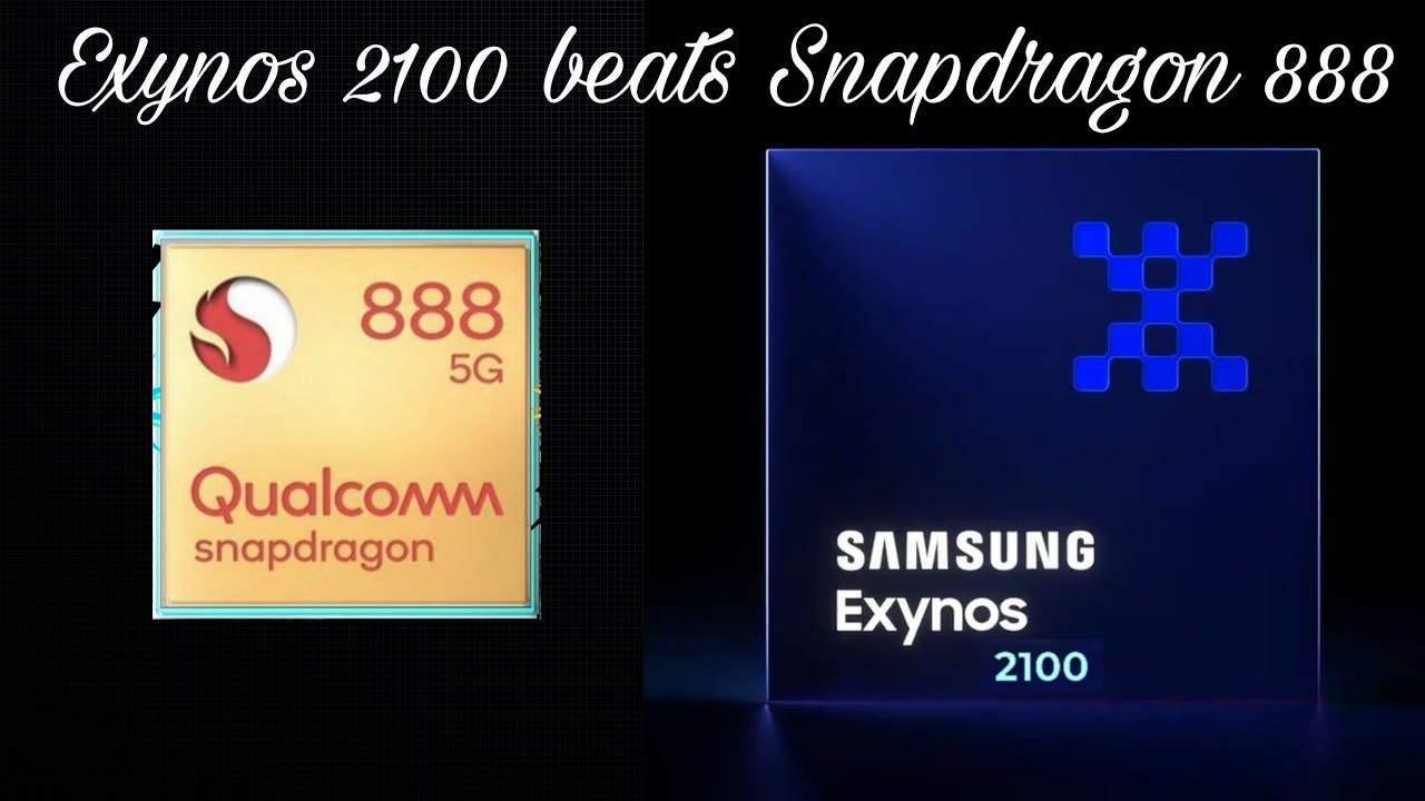 Samsung Exynos 2100 destroys Qualcomm's Snapdragon 888 in battery test