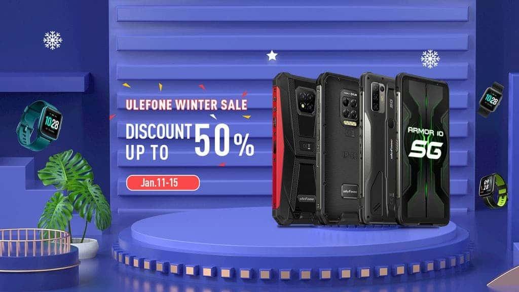 Ulefone winter sale