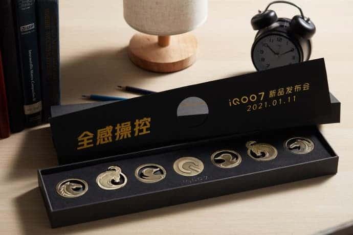 iQOO 7 invitation letter