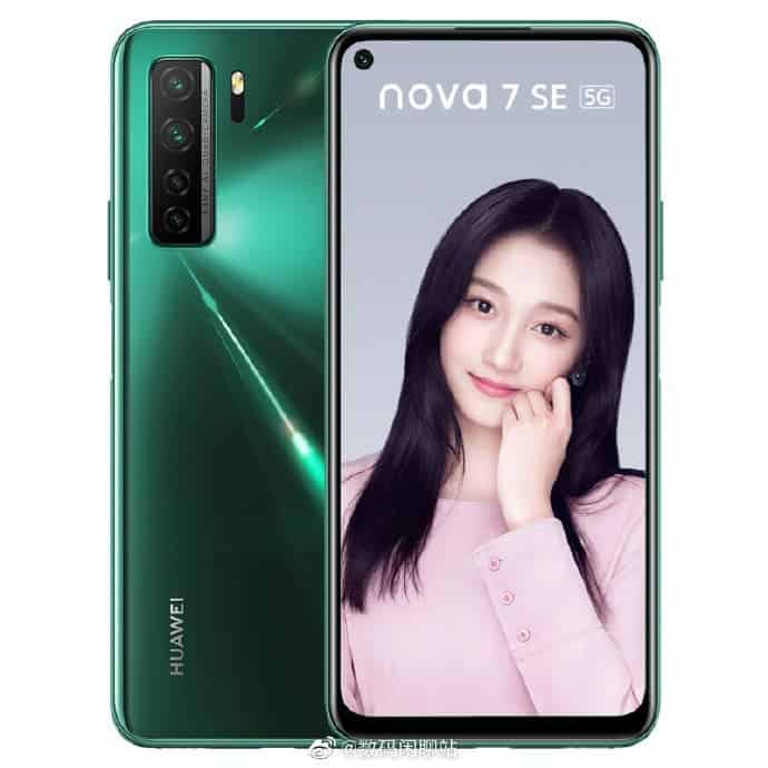 Huawei Nova 7 SE 5G Lohas Version