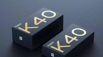 Redmi K40 flagship smartphones