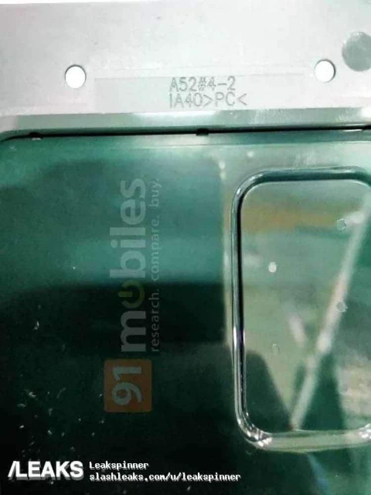 Bocoran goto Galaxy A52.