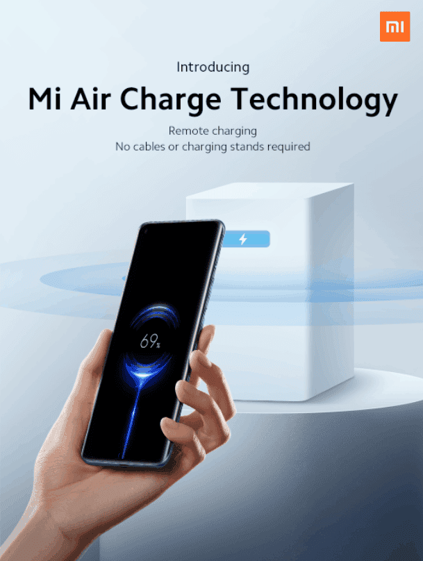 Xiaomi Mi Air Charge Technology