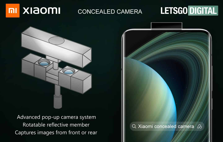Xiaomi pop-up camera