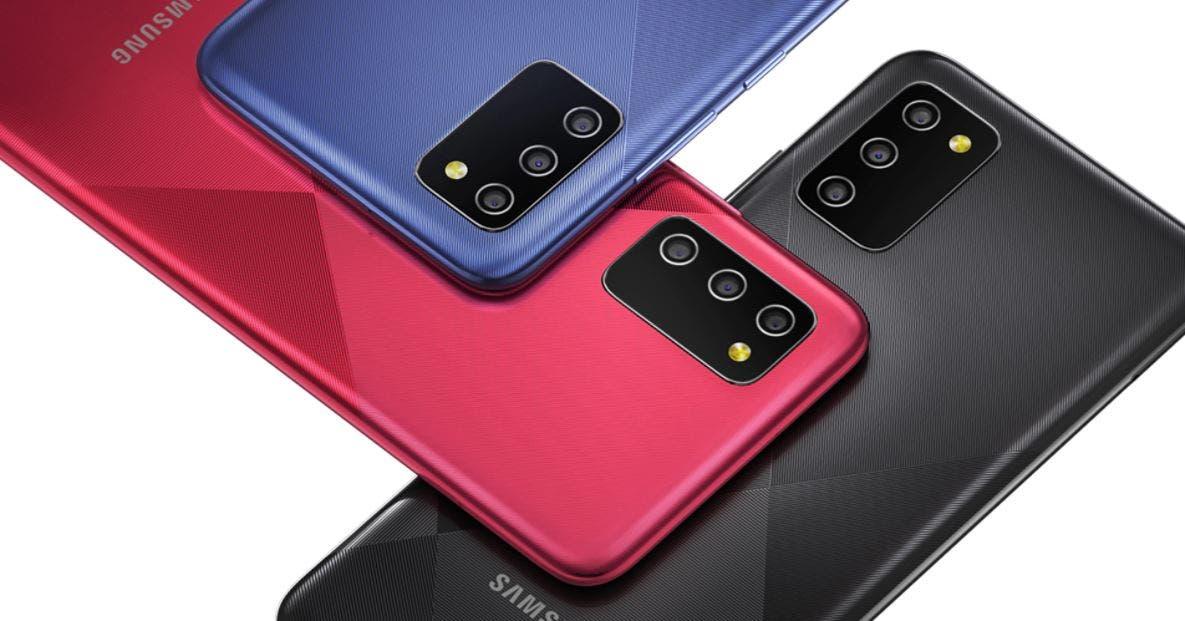Galaxy M02s colors