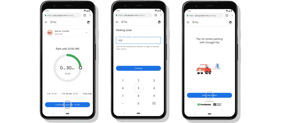 Google Maps and Google Pay