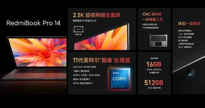 RedmiBook Pro 14