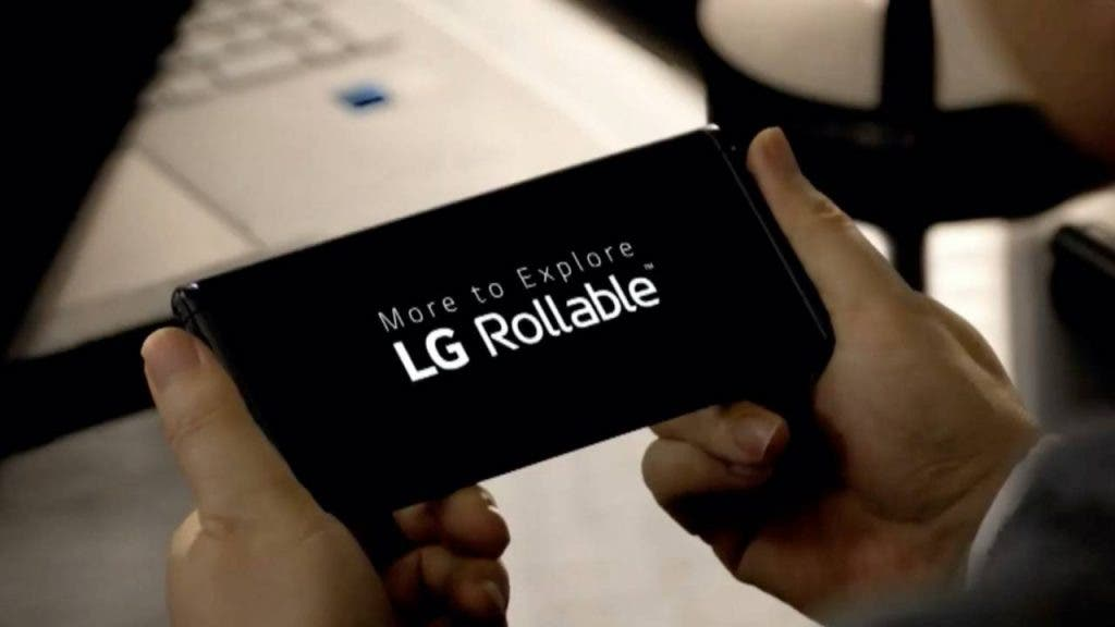 LG Rollable Android 12