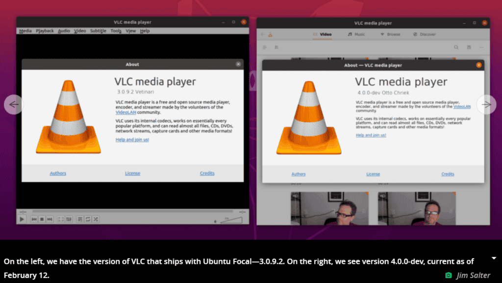 VLC player 4.0
