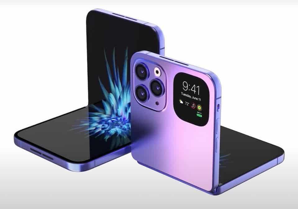 foldable iPhone flip