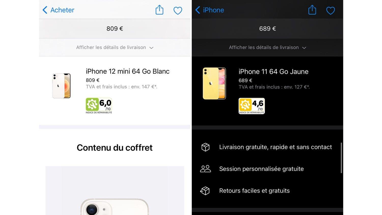 iPhone repairability