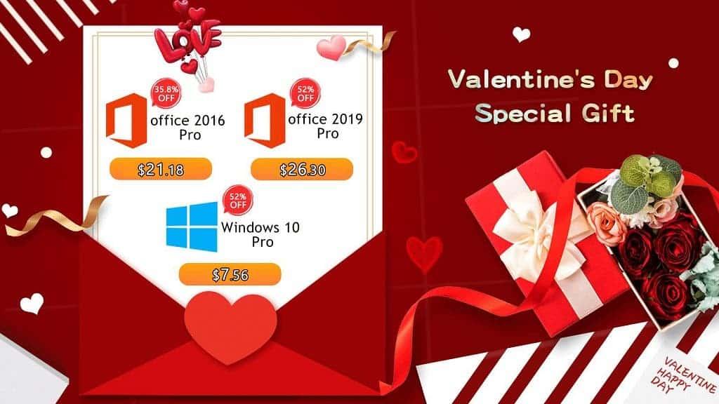 Valentine promo