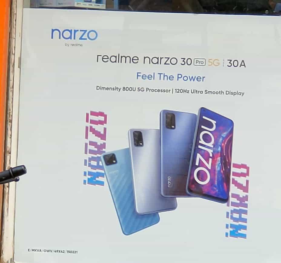 Realme Narzo 30 Pro and Realme Narzo 30A
