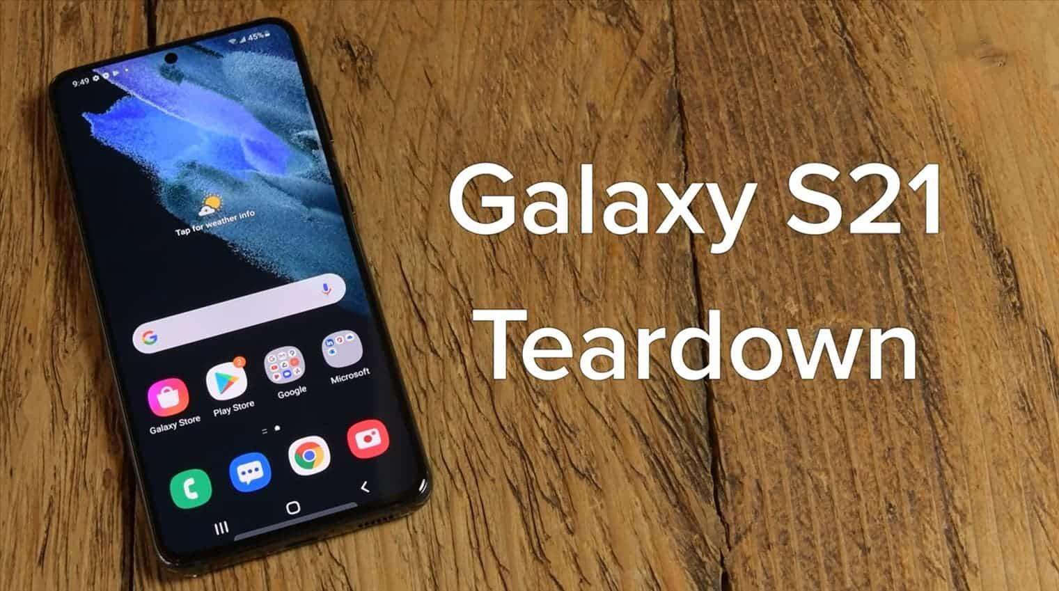 Galaxy S21 Teardown