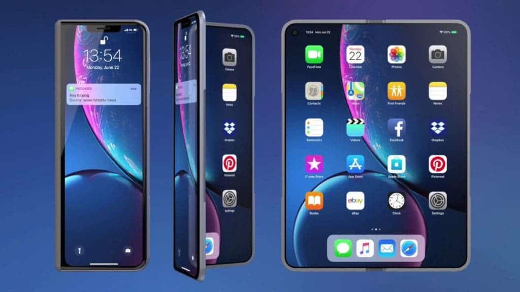 Apple may replace some of its tablets with the foldable iPhone - Gizchina.com