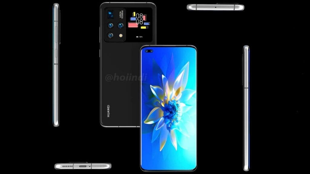 Photos of a Huawei dual-screen smartphone have been published