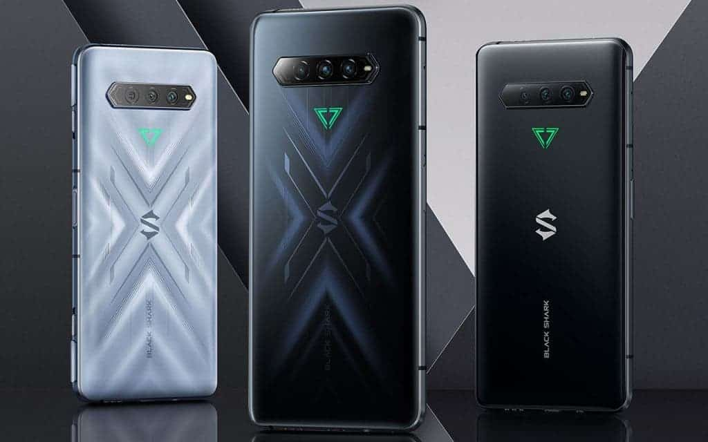 Black Shark 4 android smartphones