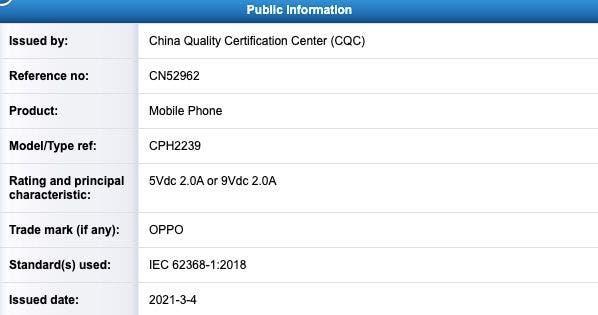 OPPO A54 4G