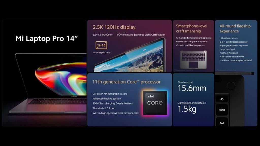 Mi Laptop Pro 14