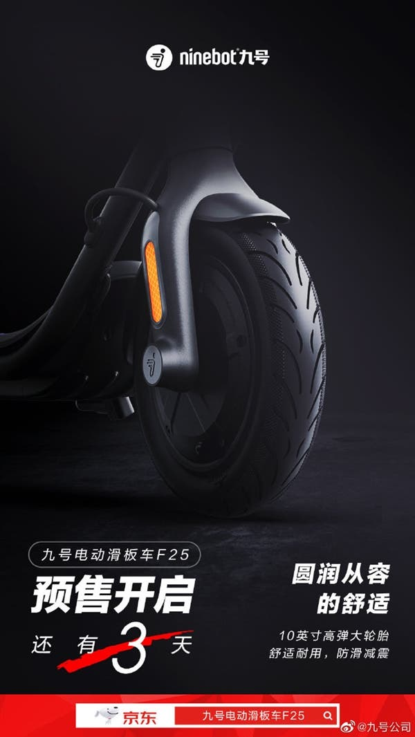 Ninebot Electric scooter F25