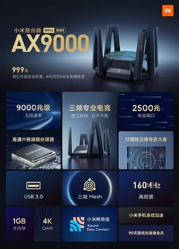 Xiaomi Router AX9000