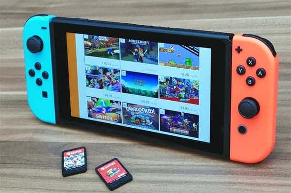 Nintendo Switch handheld game console