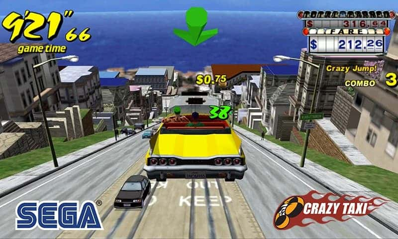 Crazy Taxi best free android games