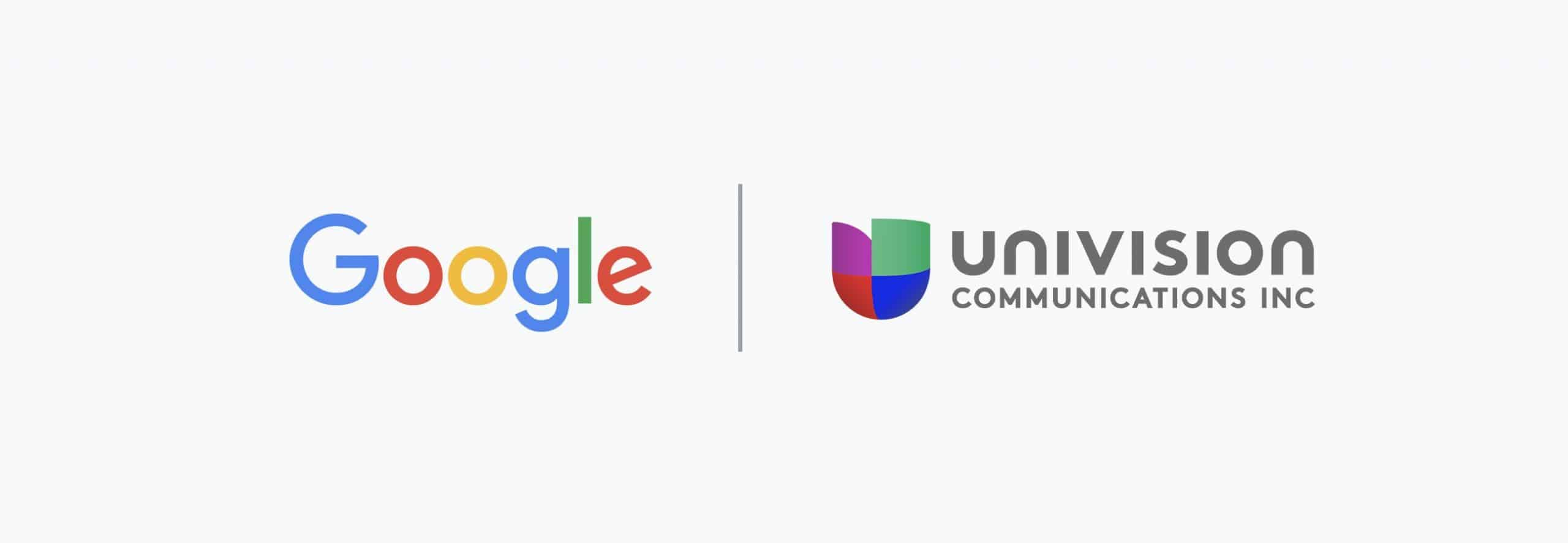 Google cloud computing Univision