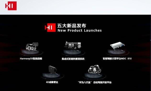 Huawei Octopus, 4D imaging radar, & more