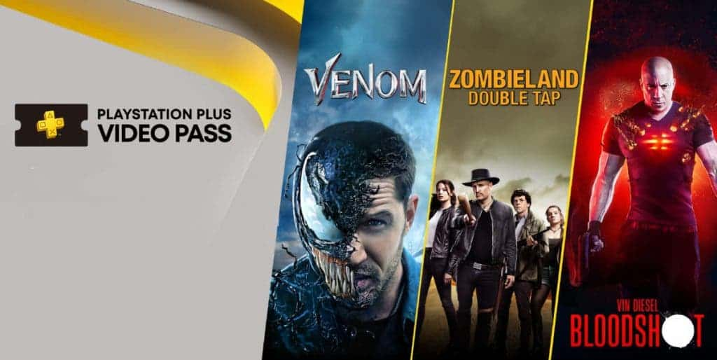 Sony PlayStation Plus Video Pass