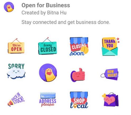 WhatsApp regional Sticker Pack