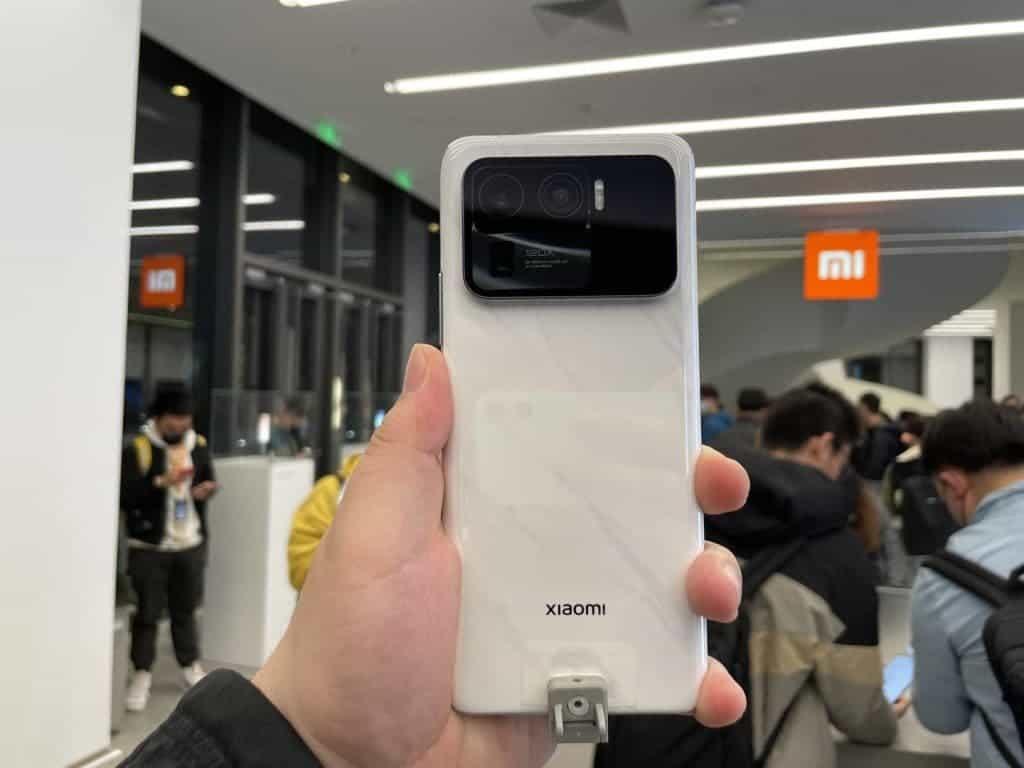 Xiaomi Mi 11 Ultra fast charging