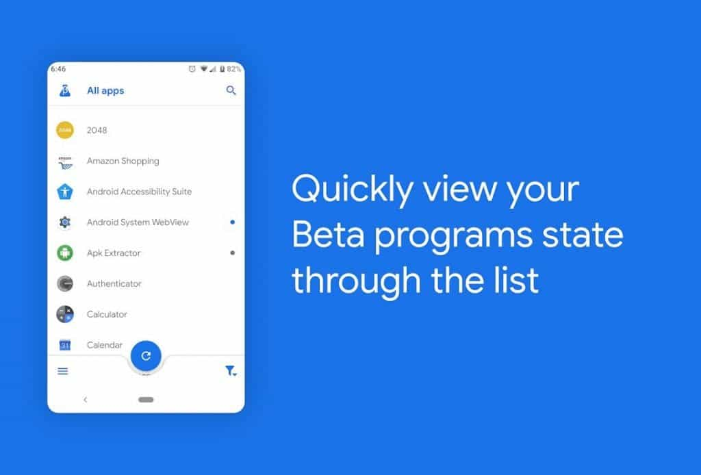 Beta Maniac - best free android apps