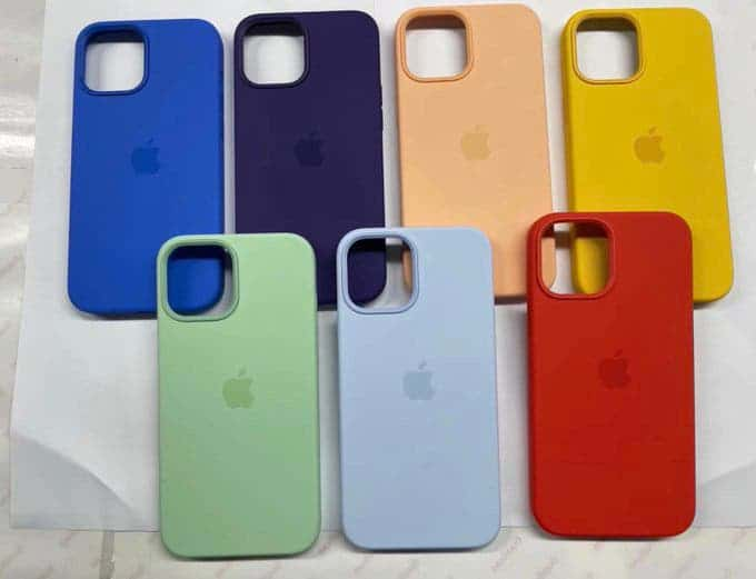 iPhone 12 silicone case