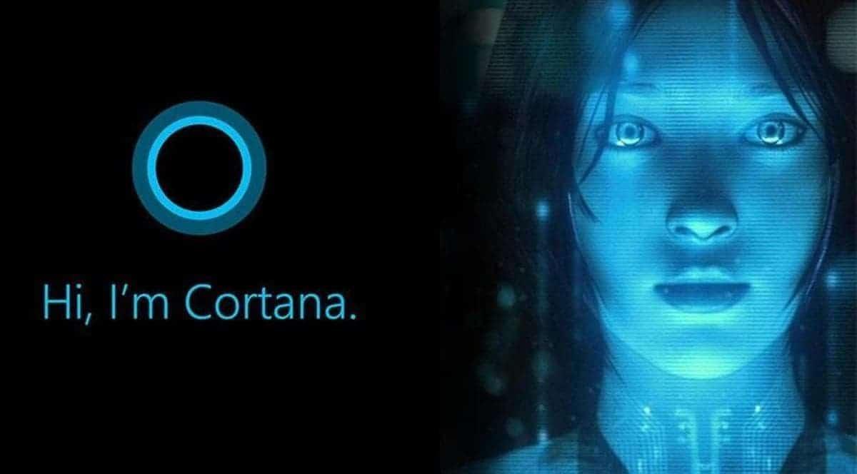 Cortana virtual assistant