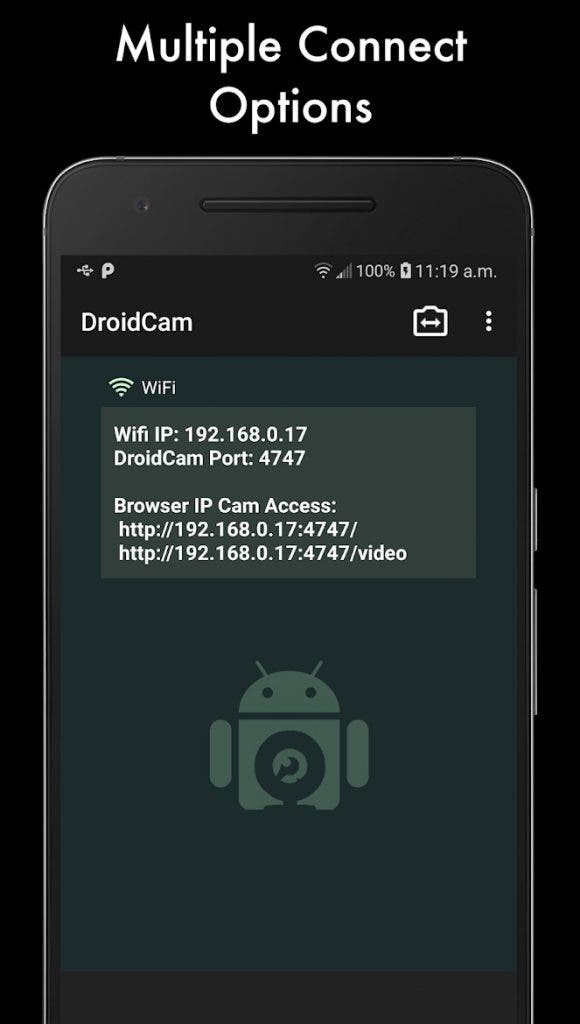 DroidCam: las mejores aplicaciones gratuitas de Android