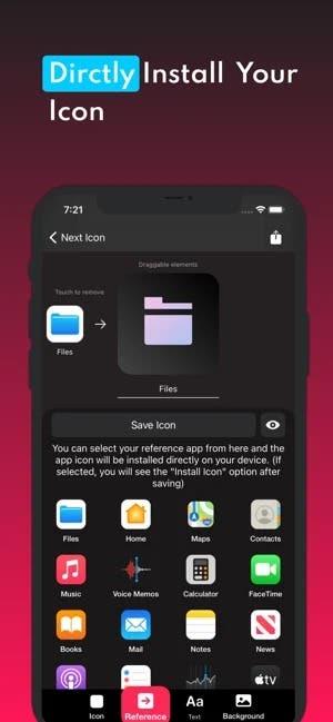 Next Icon best free iOS app