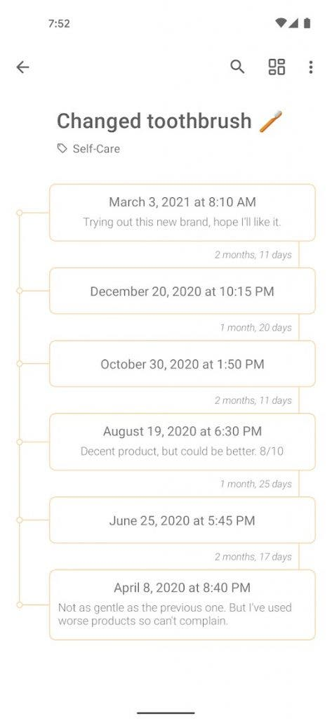 TimeJot best free android apps