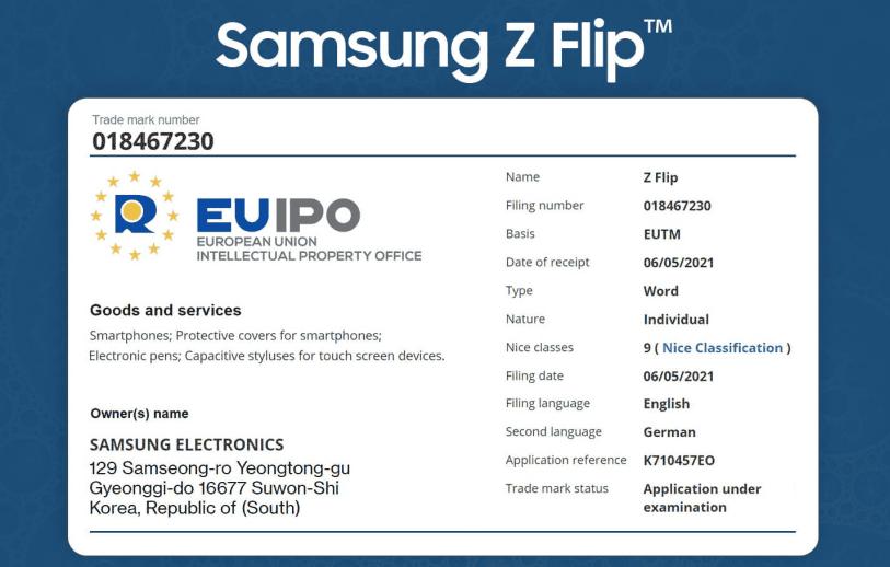 Samsung Galaxy Z Flip series