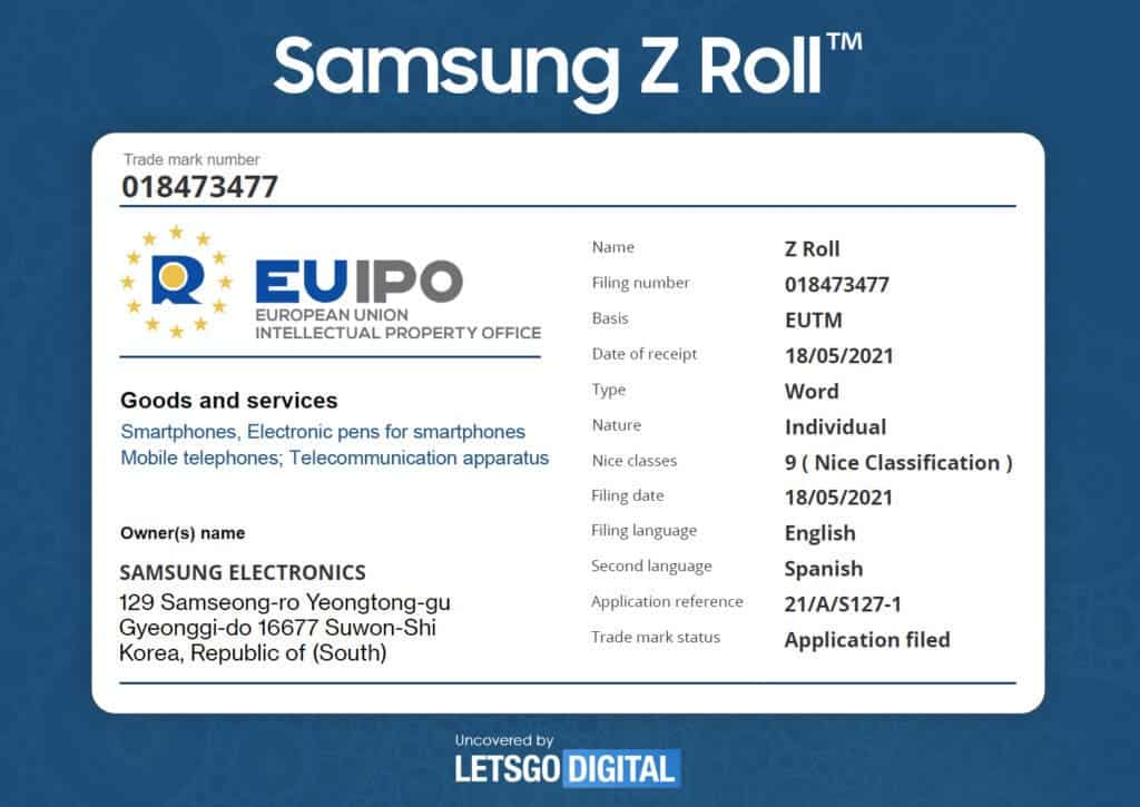 Samsung Galaxy Z Roll