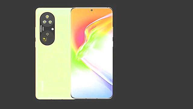Huawei P50 rendering