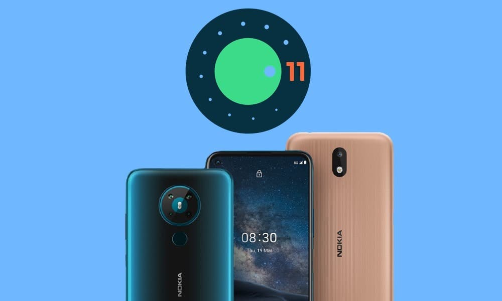 Android 11 Nokia