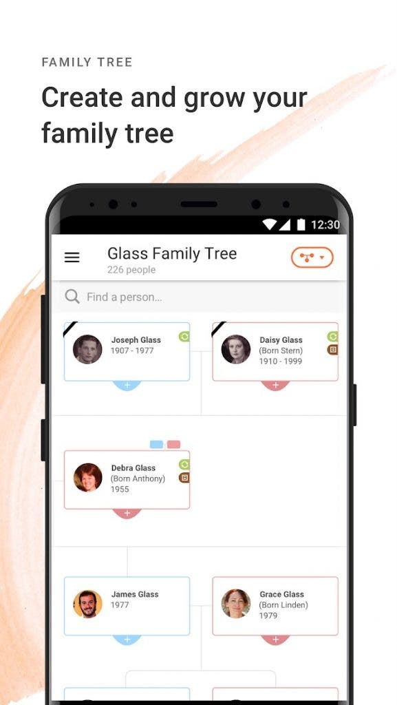 MyHeritage best free android apps