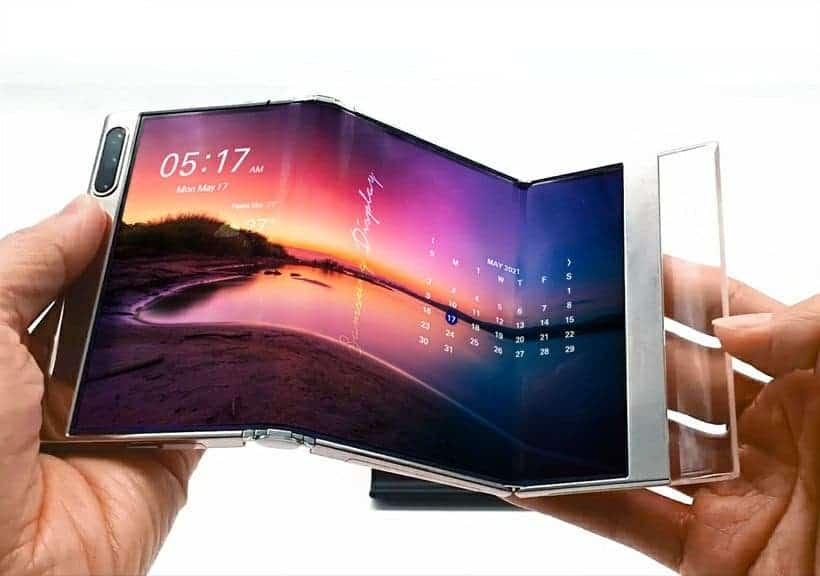 Samsung flexible screen