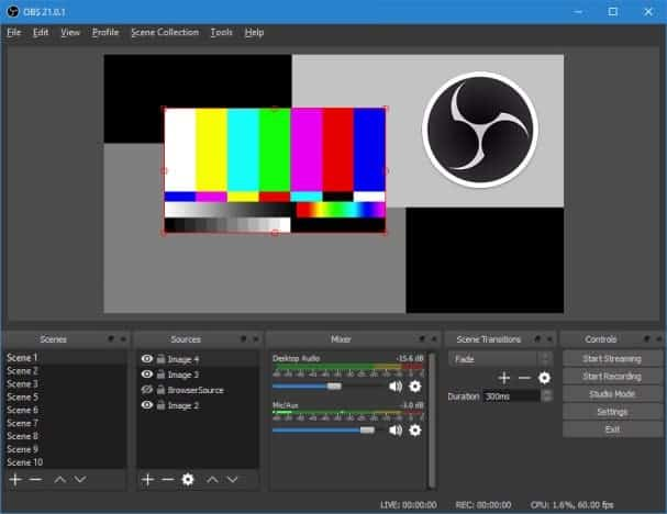 free download scree recording software for windows – obs studio