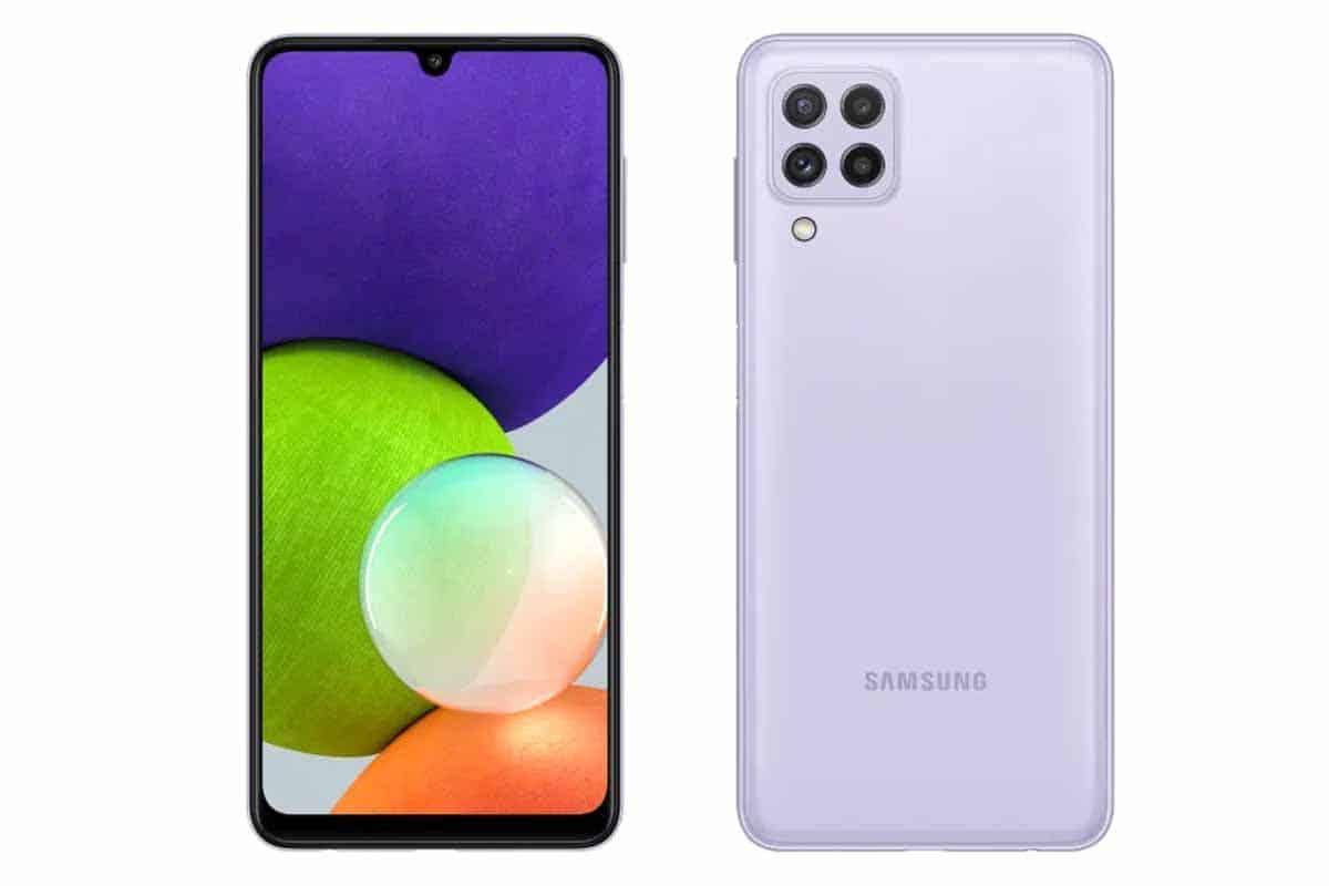 Samsung Galaxy A22 India Price